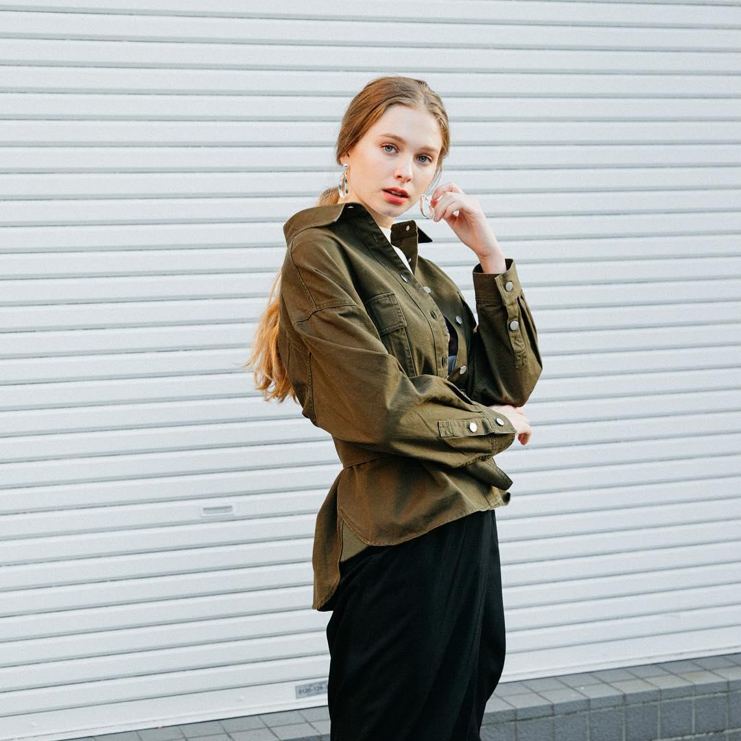 芸能人が世界一受けたい授業で着用した衣装アウター