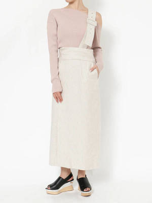 芸能人があさイチで着用した衣装ジャンパースカート