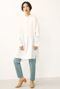 BLACK BY MOUSSYのlinen tunic