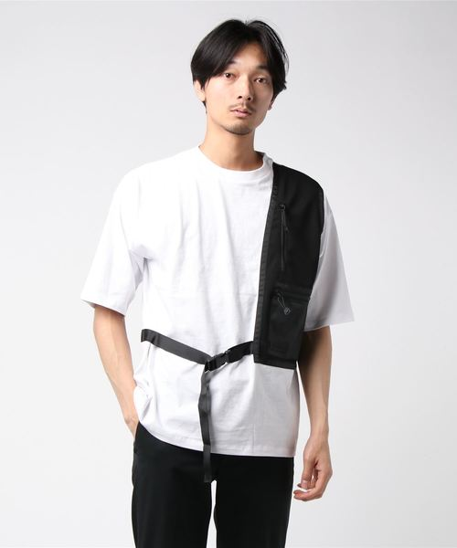 SUPERTHANKSのHOLSTER BAG ビッグTシャツ