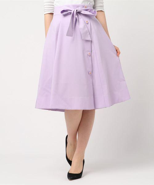 Apuweiser-richeのカラーフレアスカート