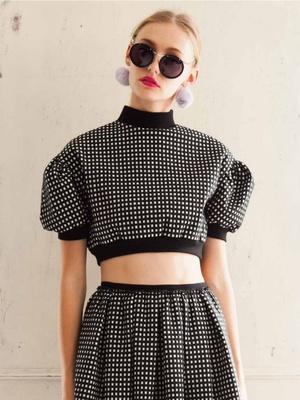 芸能人が福岡アジアコレクション2015 Spring/Summerで着用した衣装カットソー