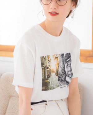 芸能人が東京独身男子で着用した衣装Tシャツ