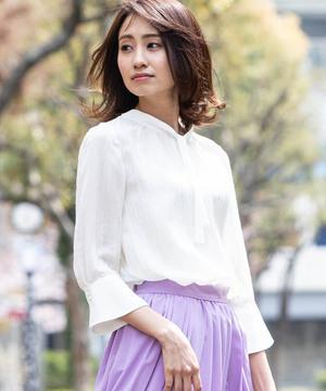 芸能人が東京独身男子で着用した衣装ブラウス