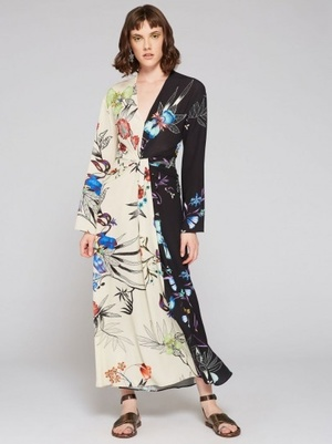 ETROのgarden of eden-print long dress
