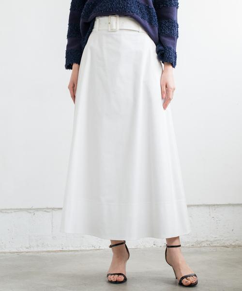Loungedressのベルトマキシスカート