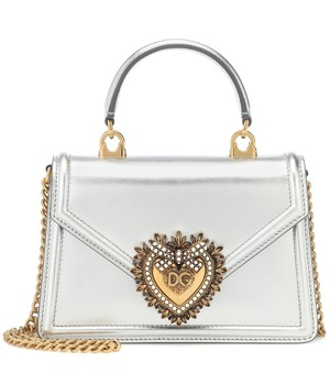 Dolce & GabbanaのDevotion Small leather shoulder bag