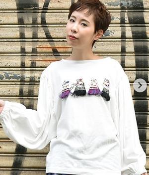 芸能人がセミオトコで着用した衣装プルオーバー