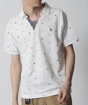 芸能人がべしゃり暮らしで着用した衣装ポロシャツ