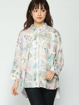 芸能人がセミオトコで着用した衣装シャツ