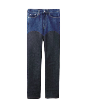 JOHN LAWRENCE SULLIVANのWOMENS COMBINATION DENIM PANTS