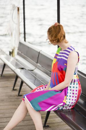 芸能人がメレンゲの気持ちで着用した衣装ワンピース