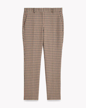 TheoryのBistretch Plaid Tailored Trouser J