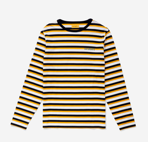 SATURDAYS NEW YORK CITYのAlek Stripe Longsleeve T-Shirt