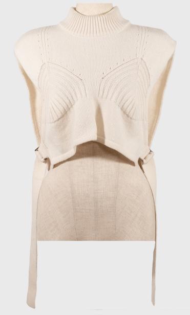 芸能人が女が女に怒る夜 2019年愚痴納めSPで着用した衣装ニット