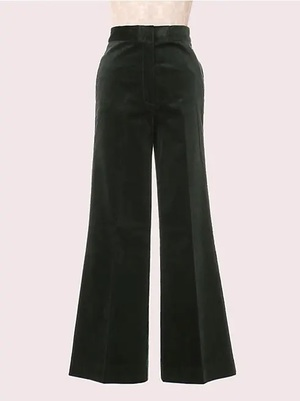 kate spade new yorkのmainline modern cord flare pant