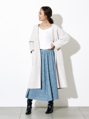 芸能人がモトカレマニアで着用した衣装コート