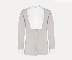 forte_forteのshirt in cotton poplin