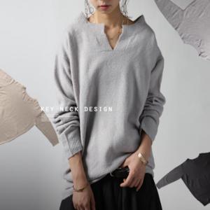 芸能人がアパレルデザイナーで着用した衣装ニット/セーター