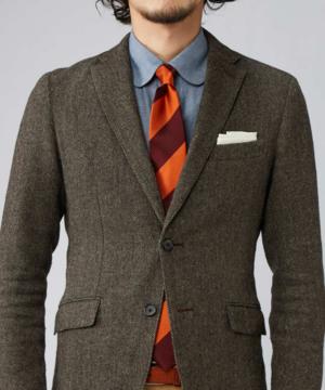 芸能人がチョコレート戦争で着用した衣装ネクタイ