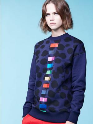 芸能人がブログで着用した衣装ニット