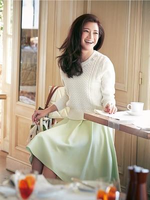 芸能人がアイムホームで着用した衣装スカート