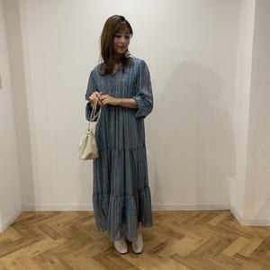 芸能人がキニナルイワテ 2020で着用した衣装ワンピース