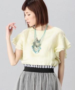 芸能人が三井アウトレットパーク サマーセール CMで着用した衣装カットソー