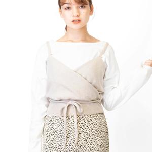 芸能人が美食探偵 明智五郎で着用した衣装ビスチェ