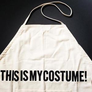 芸能人がInstagramで着用した衣装エプロン