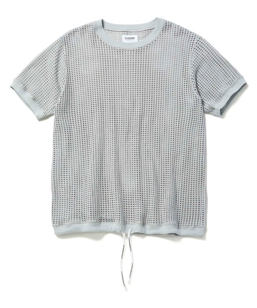 CHORD NUMBER EIGHTのMESH SHORT SLEEVE CUTSEW