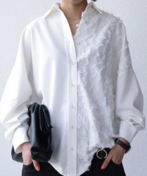 芸能人がダンススタジオ「REI」WEB•CMで着用した衣装シャツ/ブラウス