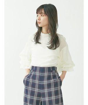 芸能人がZIP!で着用した衣装ブラウス、スカート