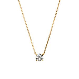 Vendome Aoyamaのエクセレントカットダイヤモンド キャトルネックレス