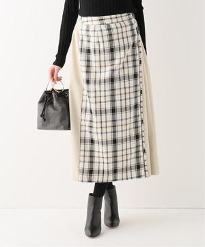 B.C STOCKのキルトロングスカート