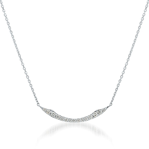STAR JEWELRYのPt950 ネックレス DIAMOND SHOOTING STAR NECKLACE(L)