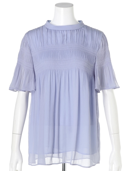 芸能人がLive News it!で着用した衣装ブラウス、スカート