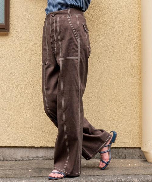 芸能人が行列のできる法律相談所で着用した衣装パンツ