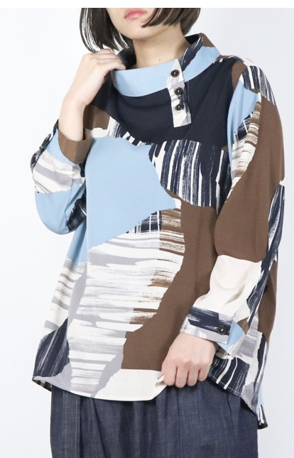 芸能人が王様のブランチで着用した衣装シャツ / ブラウス