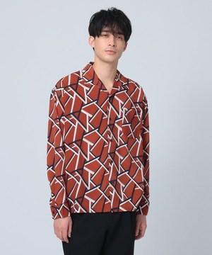芸能人が極主夫道で着用した衣装シャツ