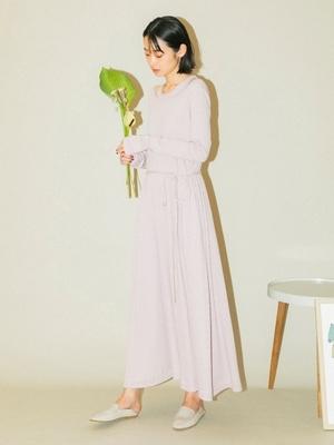 芸能人が雑誌 リンネルで着用した衣装ワンピース