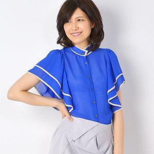 芸能人がNHKニュース おはよう日本で着用した衣装シャツ / ブラウス