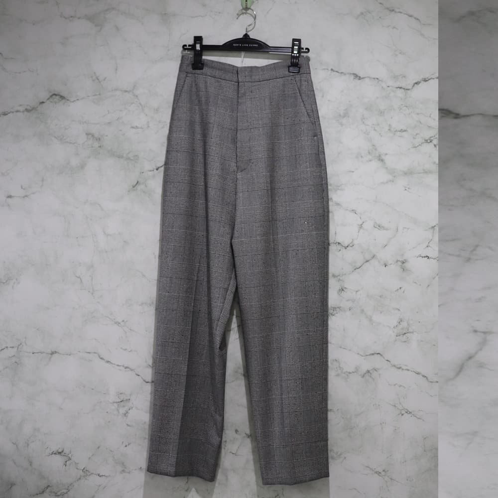 JANE SMITH のCH TAPERED SLACKS (CHECK)