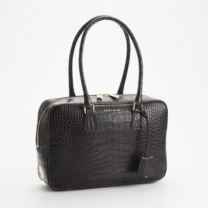 A.D.M.J.のCROCODILE EMBOSSING BOSTONBAG 28cm