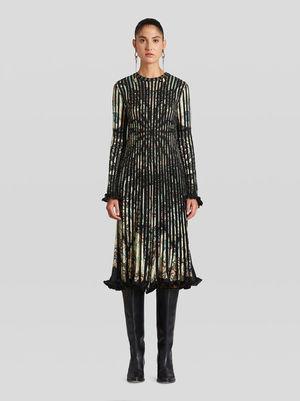 ETROのジャカード ニット ドレス