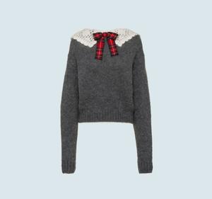 Miu Miuのモヘア セーター