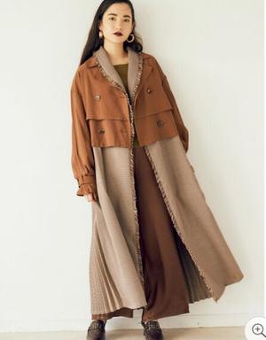 芸能人が極主夫道で着用した衣装コート