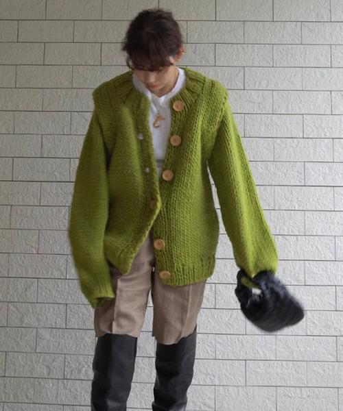 芸能人が王様のブランチで着用した衣装カーディガン
