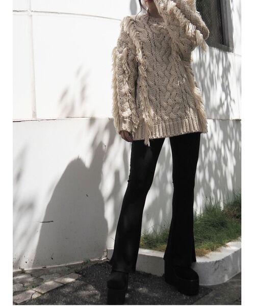 芸能人がヒルナンデス!で着用した衣装ニット