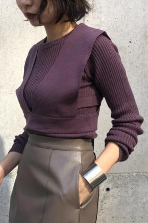 芸能人がABEMA Primeで着用した衣装ニット/セーター